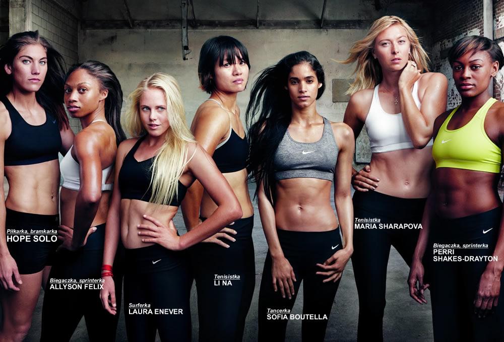 5b909b6ef7514 Nike wyprodukowało nową serię sportowej odzieży a zwłaszcza nową linię  sportowych staników - Nike Victory Bra. Do pracy przy jej promocji  zatrudniono ...